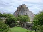 Maya Pyramid of Uxmal
